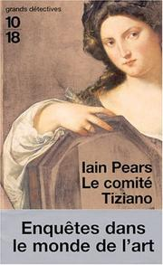 Cover of: Le Comité Tiziano
