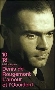 Cover of: L' amour et l'Occident