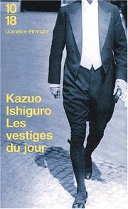 Cover of: Vestiges Du Jour