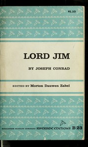 Cover of: Lord Jim | Joseph Conrad