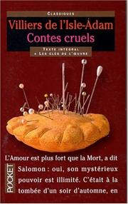 Cover of: Contes cruels