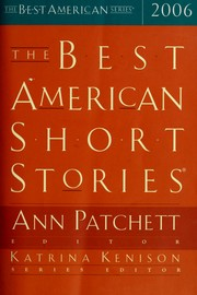 Cover of: Best American Short Stories 2006 |