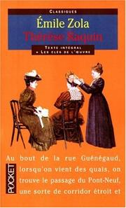 Cover of: Therese Raquin
