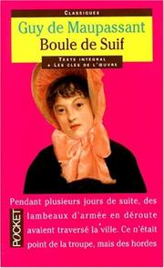Cover of: Boule de Suif (Pocket Classics) | Guy de Maupassant