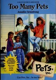 TOO MANY PETS (Pets, Inc, No 2)