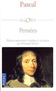 Cover of: Pascal pensées: selections