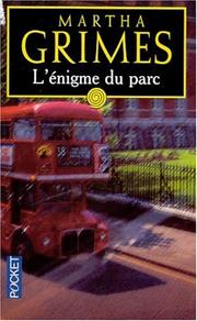 Cover of: L'énigme du parc
