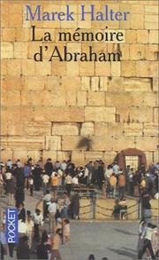 Cover of: La Mémoire d'Abraham