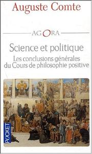 Cover of: Science et politique