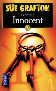 "Cover of: ""I"" Comme Innocent"