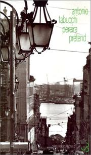 Cover of: Pereira prétend