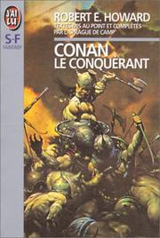 Cover of: Conan le conquérant