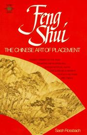 Cover of: Feng shui