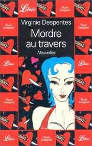 Cover of: Mordre au travers