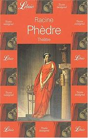 Cover of: Phedre