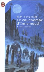 Cover of: Le cauchemar d'innsmouth