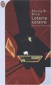 Cover of: Loterie solaire