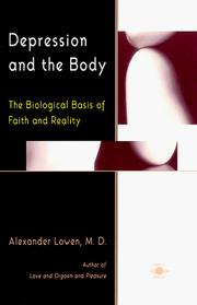 Depression and the Body by Alexander Lowen