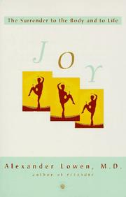 Cover of: Joy | Alexander Lowen