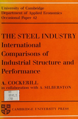The steel industry by Anthony Cockerill