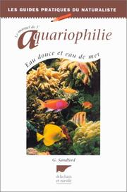 Cover of: Le manuel d'aquariophilie