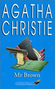 Cover of: Mr Brown | Agatha Christie