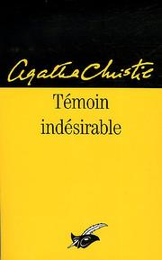 Cover of: Témoin indésirable