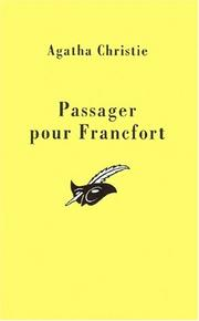 Cover of: Passager pour Francfort
