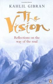 Cover of: The Vision | Kahlil Gibran