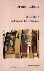 Cover of: Aramis: or the love of technology