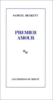 Cover of: Premier amour | Samuel Beckett