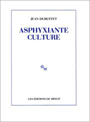Cover of: Asphyxiante culture