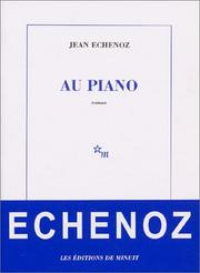 Cover of: Au piano