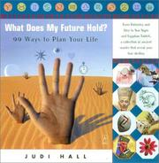 Cover of: What does my future hold?