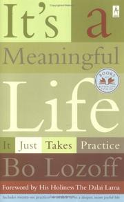 Cover of: It's a Meaningful Life  | Bo Lozoff