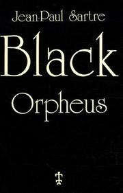Cover of: Orphée noir