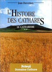 Cover of: Histoire des cathares