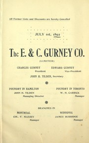[Catalogue] July 1st, 1892