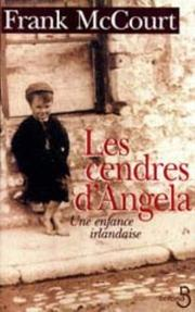 Cover of: Cendres D'Angela
