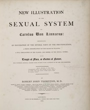 Cover of: New illustration of the sexual system of Carolus von Linnaeus by Robert John Thornton