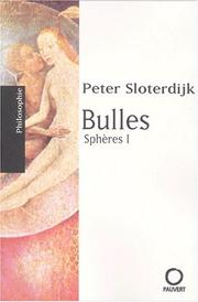 Cover of: Sphères, tome 1: Bulles