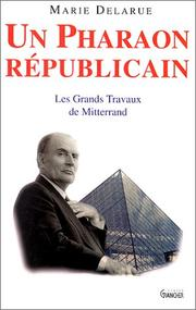 Cover of: Un pharaon republicain