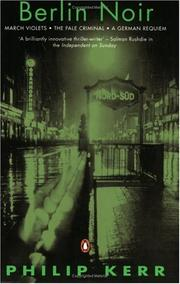 Cover of: Berlin noir