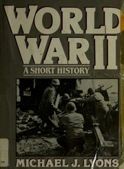 Cover of: World War II | Michael J. Lyons