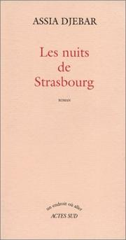 Cover of: Les nuits de Strasbourg