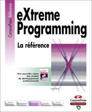 Cover of: Extreme Programming