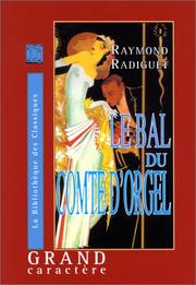 Cover of: Le bal du Comte d'Orgel