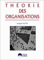 Cover of: Théorie des organisations