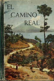 Cover of: El camino real | Edith Moore Jarrett