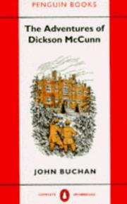 Cover of: The Adventures of Dickson McCunn